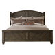 Liberty Modern Country King Poster Bed in Harvest Brown 833-BR-KPS