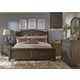 Liberty 4-Piece Modern Country Poster Bedroom Set in Harvest Brown