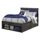Jaysom Full Panel Storage Bed in Black B521-FS
