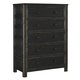 Jaysom 5 Drawer Chest in Black B521-45