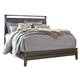 Zilmar King Upholstered Panel Bed in Brown B548-K