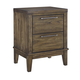 Zilmar 2 Drawer Nightstand in Brown B548-92