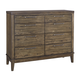 Zilmar Dresser in Brown B548-31