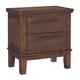 Ralene 2 Drawer Nightstand in Medium Brown B594-92