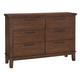 Ralene Dresser in Medium Brown B594-31