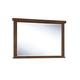 Ralene Bedroom Mirror in Medium Brown B594-36