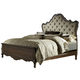Liberty Lorraine King Upholstered Bed in Antique Oak 843-BR-KUB