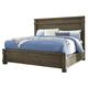 Leystone King Panel Bed in Dark Brown B614-K