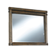 Leystone Bedroom Mirror in Dark Brown B614-36