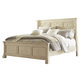 Bolanburg California King Panel Bed in White B647-CK
