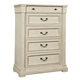 Bolanburg 5 Drawer Chest  in White B647-46