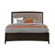 Casana Furniture Juliette King Panel Bed in Mink 380-510KK