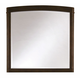 Casana Furniture Juliette Portrait Mirror in Mink 380-401