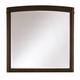Casana Furniture Juliette Portrait Mirror in Mink 380-401