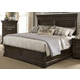 Liberty Country Estate Queen Panel Bed in Chateau Brown 881-BR-QPB