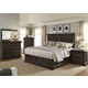 Liberty 4-Piece Country Estate Panel Bedroom Set in Chateau Brown