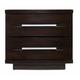 Casana Furniture Manola 2 Drawer Nightstand in Coffee 290-434
