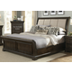 Liberty Country Estate Queen Sleigh Bed in Chateau Brown 881-BR-QSL