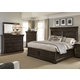 Liberty 4-Piece Country Estate Storage Panel Bedroom Set in Chateau Brown