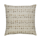 Whitehurst Dot Designed Pillow in Taupe and Gold (Set of 4)
