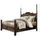 Fine Furniture Belvedere King Poster Bed in Amalifi