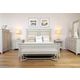 Fine Furniture Camden 4pc Brookston Upholstered Bedroom Set in Brookhaven
