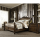 Fine Furniture Belvedere Poster Bedroom Set in Amalifi