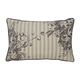 Avariella Botanical Designed Pillow in Natural and Gray (Set of 4)