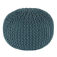 Nils Contemporary Style Pouf in Teal A1000373