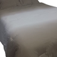 Aracely 3-Piece King Comforter Set in Taupe and White Q243023K