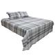 Danail 3-Piece King Duvet Cover Set in Gray Q278013K