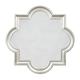 Desma Quatrefoil Design Accent Mirror in Gold A8010044