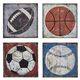 Dessa Sports Theme Design Wall Decor Set (Set of 4)