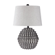 Amarine Poly Table Lamp in Antique Black L235494