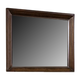 Virginia House Collaboration Landscape Mirror in Rusitc Cherry 612-446