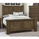 Virginia House Collaboration King Poster Bed in Rusitc Pine