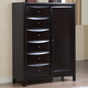 Coaster Phoenix Man's Chest with Storage Drawers in Cappuccino 200420