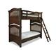 Universal Smartstuff Classics 4.0 Twin Bunk Bed in Classic Cherry 1312530 CODE:UNIV20 for 20% Off
