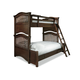 Universal Smartstuff Classics 4.0 Twin Over Full Bunk Bed in Classic Cherry 1312590