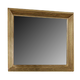 Virginia House Collaboration Landscape Mirror in Casual Oak 614-446