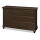 Universal Smartstuff Classics 4.0 Drawer Dresser in Classic Cherry 1312002