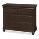Universal Smartstuff Classics 4.0 Single Dresser in Classic Cherry 1312001