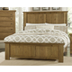 Virginia House Collaboration King Panel Bed in Casual Oak