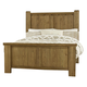 Virginia House Collaboration King Poster Bed in Casual Oak