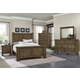 Virginia House Collaboration 4 Piece Poster Bedroom Set in Rustic Pine