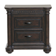 Samuel Lawrence Grand Manor Nightstand in Rich Tobacco 8920-050