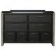 Samuel Lawrence Graphite 8 Drawer Dresser in Graphite 8942-410