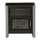 Samuel Lawrence Graphite 1 Drawer Nightstand in Graphite 8942-450