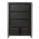Samuel Lawrence Graphite 5 Drawer Chest in Graphite 8942-440