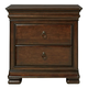 Universal Furniture Reprise 3 Drawer Nightstand in Classical Cherry 581355